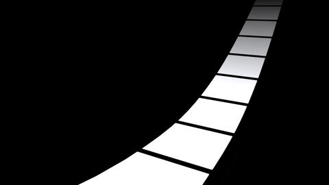 Film Strip A09a Stock Video Footage