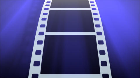Film Strip B02a HD Stock Video Footage
