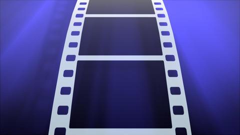 Film Strip B02a HD Stock Video Footage