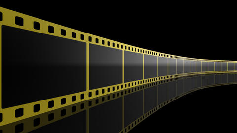Film Strip D01m Stock Video Footage