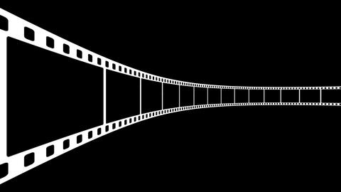 Film Strip D03m Stock Video Footage