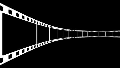Film Strip D03m Stock Video Footage