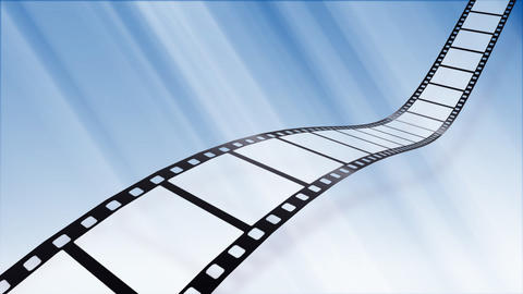 Film Strip B04b Stock Video Footage