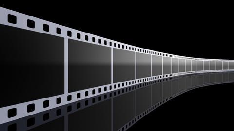 Film Strip D01b Stock Video Footage