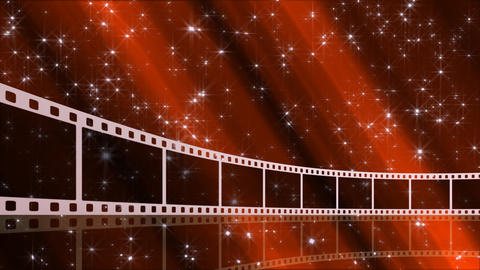 Film Strip D02a Stock Video Footage