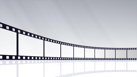 Film Strip D02c Stock Video Footage