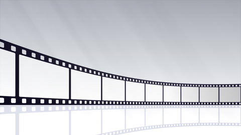 Film Strip D02c Stock Video Footage