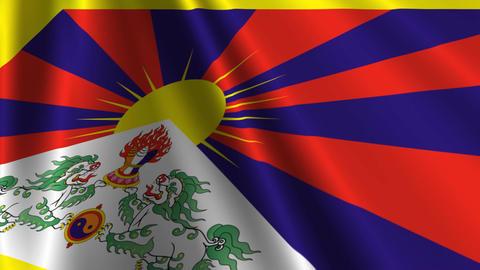 TibetFlagLoop03 Animation