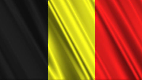 BelgiumFlagLoop01 Animation