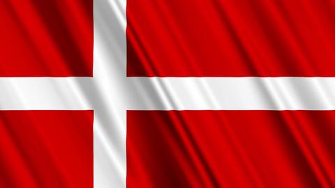 DenmarkFlagLoop01 Animation