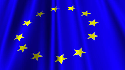 EUFlag02 Stock Video Footage
