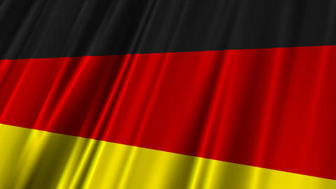 GermanyFlag02 Stock Video Footage