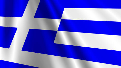 GreeceFlag03 Animation