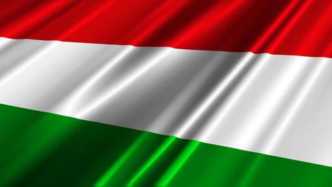 HungaryFlagLoop02 Animation
