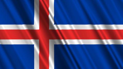 IcelandFlagLoop01 Animation
