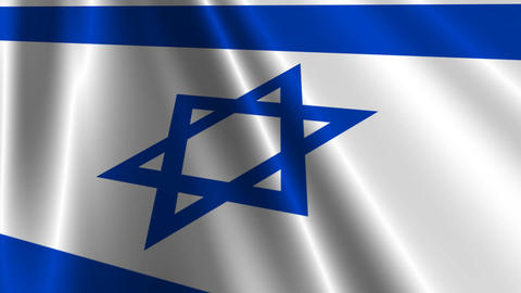 IsraelFlagLoop03 Animation