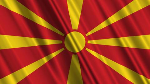MacedoniaFlagLoop01 Animation