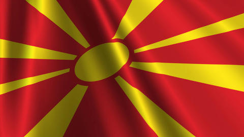 MacedoniaFlagLoop03 Animation