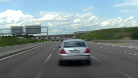 timelapse highspeed highway drive 2 Footage