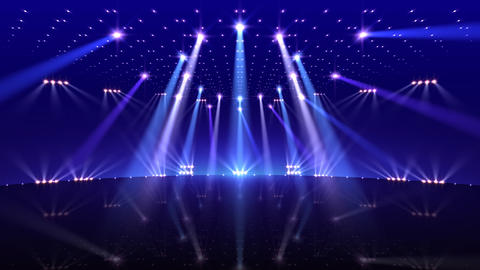 Stage Lighting 2 BfC1 stock footage