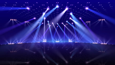 Stage Lighting 2 BfC1 Stock Video Footage