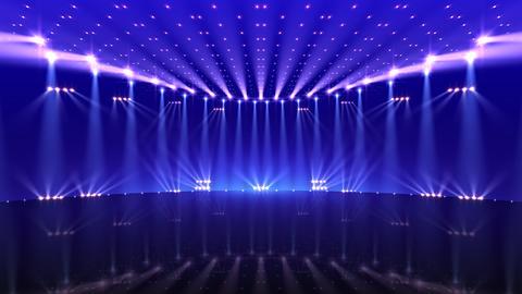 Stage Lighting 2 CfC1 Stock Video Footage