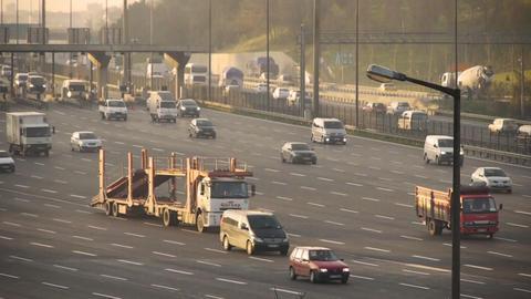 Urban trafic Stock Video Footage