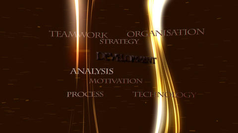 Business strategies leading to success - Technology Animation