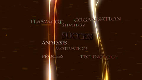 Business strategies leading to success - Technology Stock Video Footage