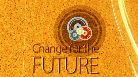 Change for the Future Stock Video Footage