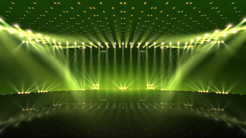 Stage Lighting 2 AfC2 Stock Video Footage