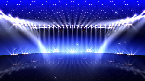 Stage Lighting 2 AfF1 Stock Video Footage