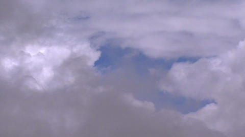 fly through clouds 2 Stock Video Footage