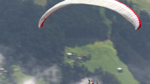 paraglider start 01 Footage