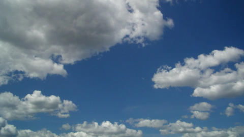 cloud time lapse Stock Video Footage
