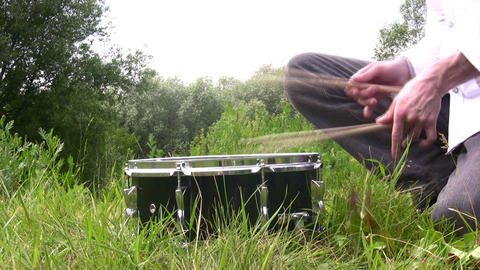 drum Stock Video Footage