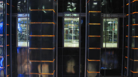 elevators time lapse Stock Video Footage