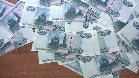 rubles wind Stock Video Footage