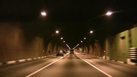 car tunnel Footage