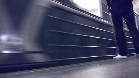 subway train Stock Video Footage