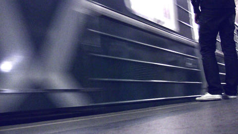 subway train Footage