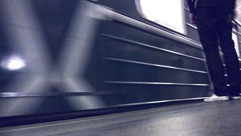 subway train Stock Video Footage