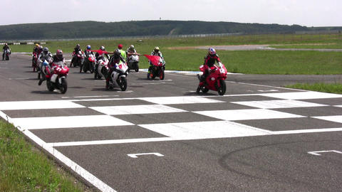 moto start contest Footage
