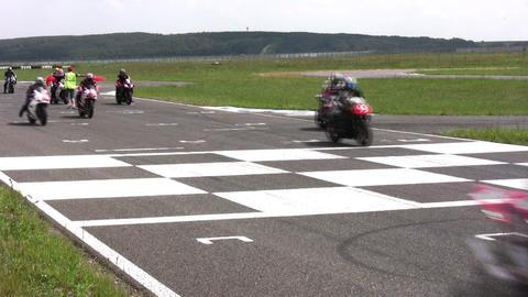 moto start contest Stock Video Footage