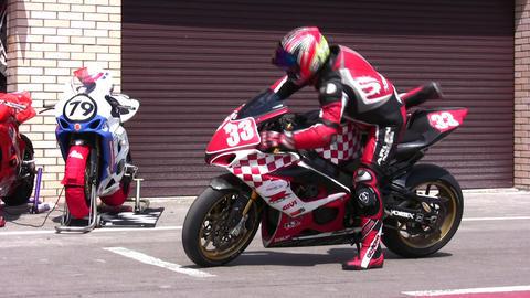 sport bike Footage