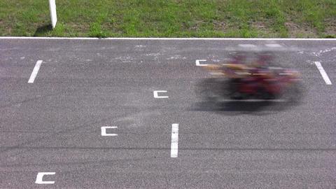 moto start Stock Video Footage