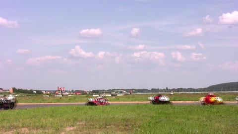 moto curve Stock Video Footage