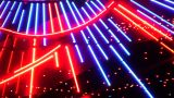 Night Neon Light Casino 5 stock footage