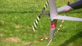Helicopter Propeller stock footage