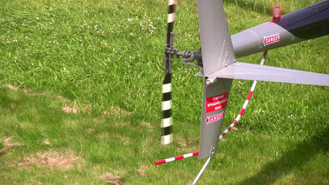 helicopter propeller Stock Video Footage